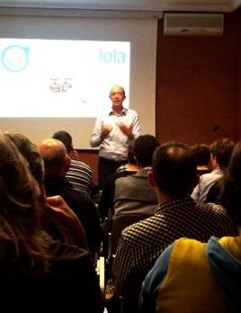 Federico Aparici - Naranjas Lola - Conferencia Huesca